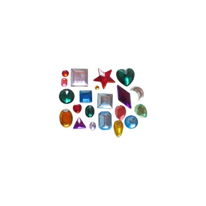 Molde Silicona 65 piedras preciosas