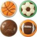 Molde para piruleta de balones de chocolate Wilton