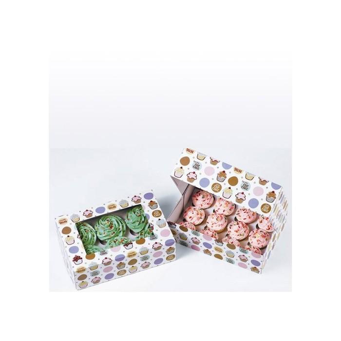 Set cajas de 6 cupcakes