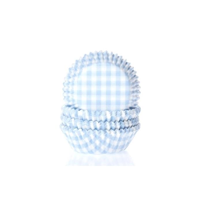 Cápsulas mini Vichy azul House of Marie