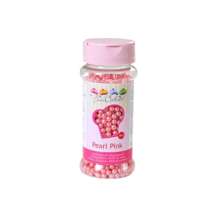 Perlas rosa perlado