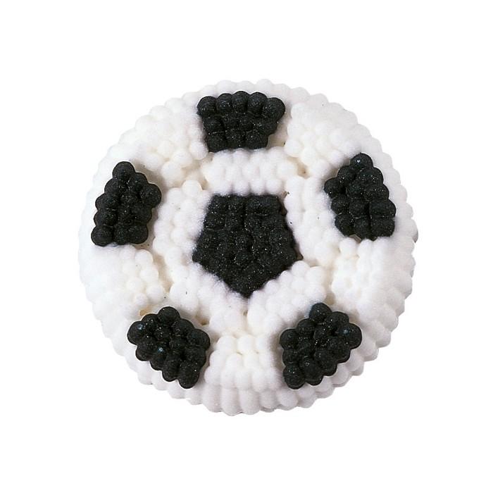 Figura de azúcar Balón de fútbol - Wilton