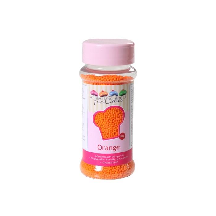 Nonpareils Naranja - Funcakes