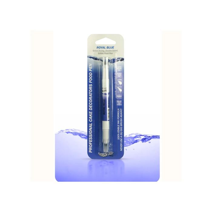 Rotulador doble punta azul marino
