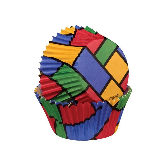 Cápsulas bloques de colores Wilton