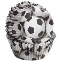 Cápsulas decoración fútbol (36) - Wilton