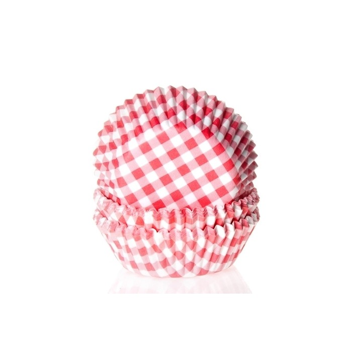 Cápsulas Vichy Rojo Gingham (50) - House of Marie