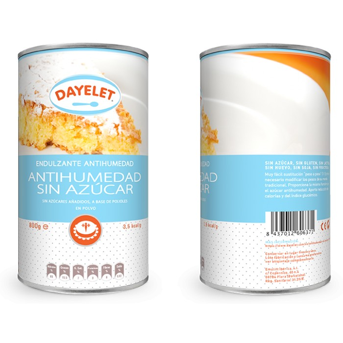 Antihumedad sin azúcar 350 g - Dayelet