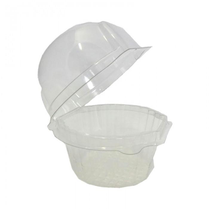 Caja plástico 1 cupcake (12u.)