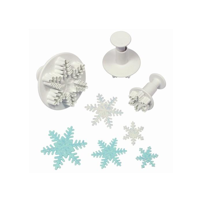 Cortadores con expulsor copos de nieve