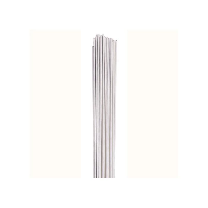 Alambres Florales blancos nº 18