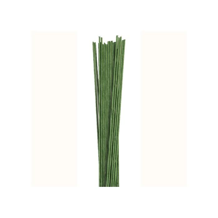 Alambres florales verdes nº 20