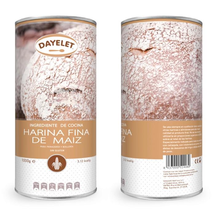 Harina fina de maíz - Dayelet