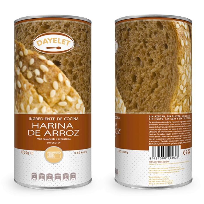 Harina de arroz 1 kg. - Dayelet