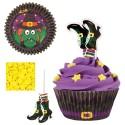 Kit para cupcakes bruja - Wilton