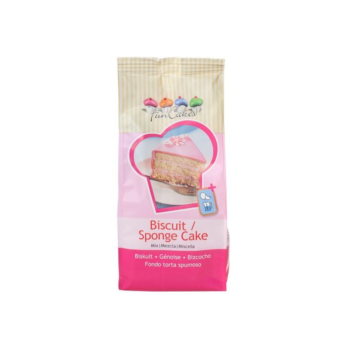 Preparado de bizcocho Sponge 1 Kg. - Funcakes