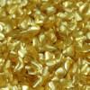Corazones de brillantina dorada - Rainbow Dust