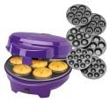 Máquina 3 en 1 Cupcakes, Donuts y Cakepops - Clatronic