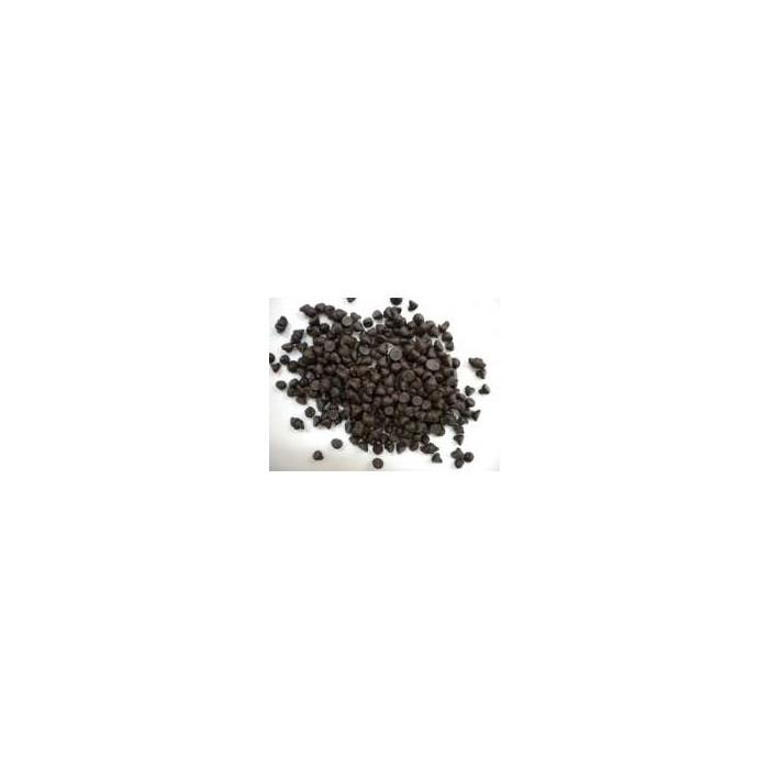 Perlas de chocolate puro 72% a granel 500 g