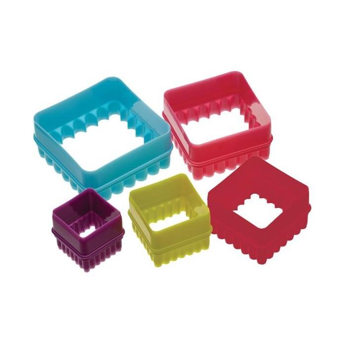 Cortadores cuadrados doble filo