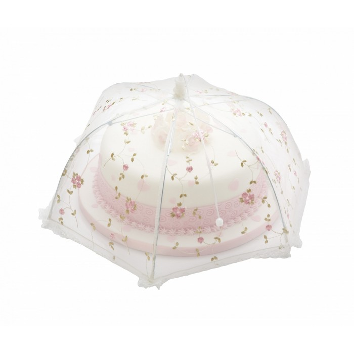 Paraguas cubre tartas