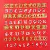 Cortador Alfabeto y Números Tipo de Letra Inglesa