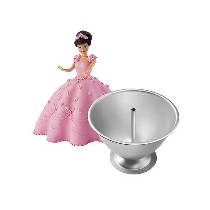 Kit molde muñeca Wilton