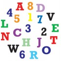 Regla cortador números y letras mayúsculas
