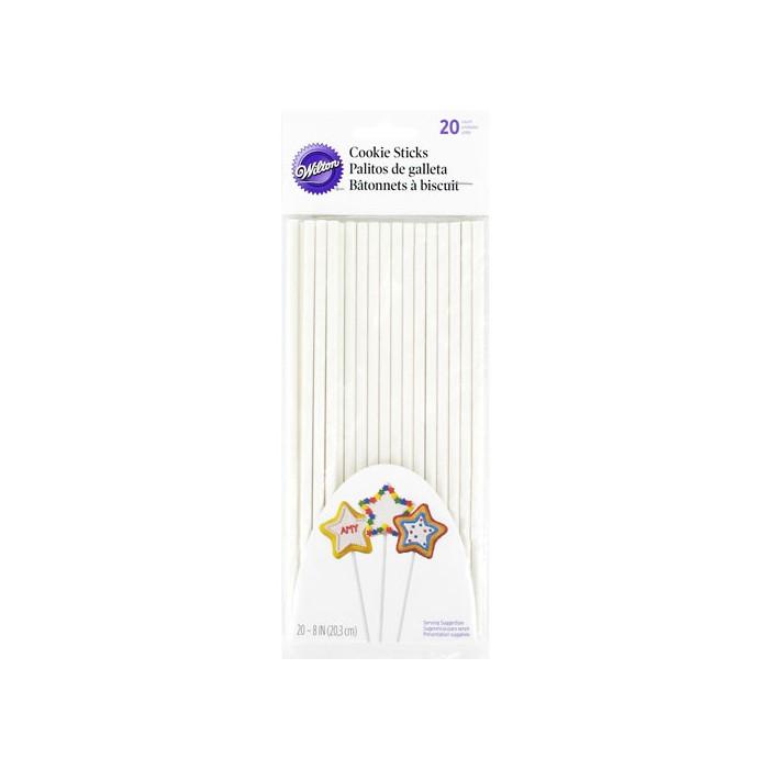 20 Palitos Lollipops 20 cm - Wilton