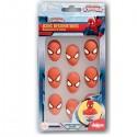 Set 9 Spidermans de azúcar