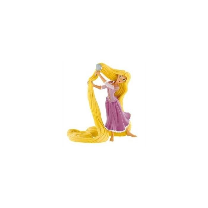 Figura Rapunzel peinándose