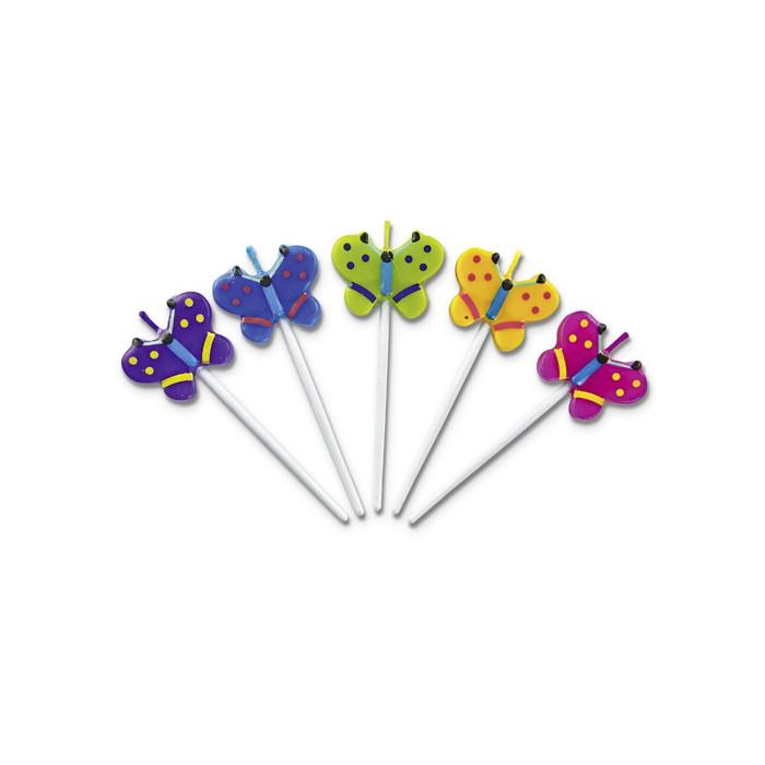 Velas mariposas
