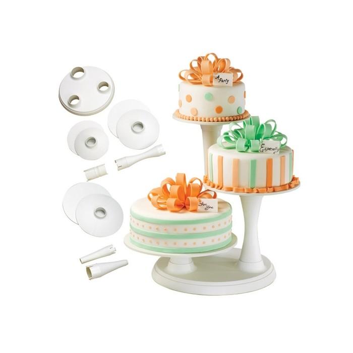 Soporte de tres platos para tartas - Wilton