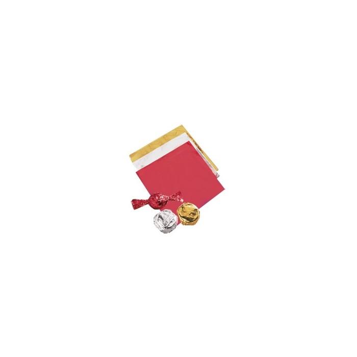 50 Envoltorios para bombones dorada - Wilton