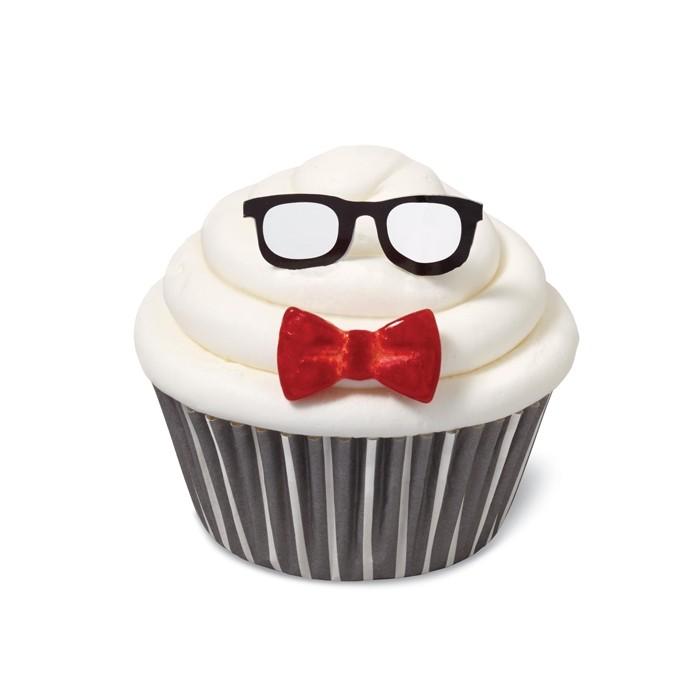 Kit Cupcakes Gafas y lazo