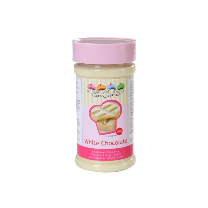 Pasta sabor chocolate blanco - Funcakes