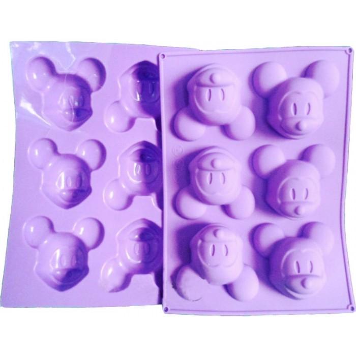 Molde silicona Mickey