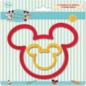 Set 2 cortadores Mickey