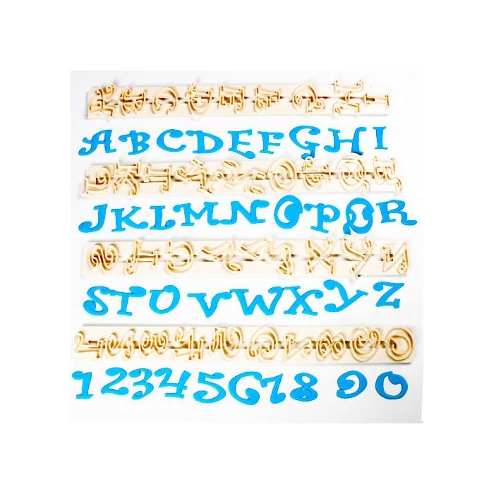 Cortadores letras y números Chunky Funky