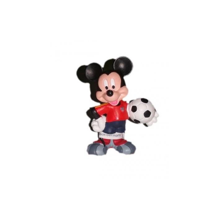 Figurita Mickey futbolista