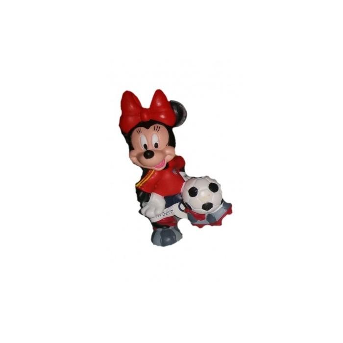 Figurita Minnie futbolista
