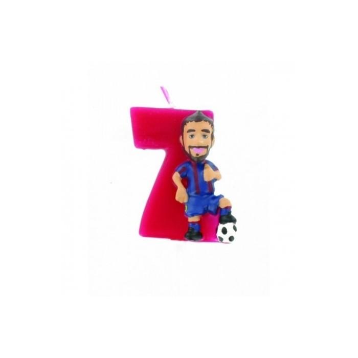Vela Barça Piqué núm.7