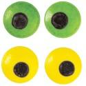 Ojos de caramelo de colores