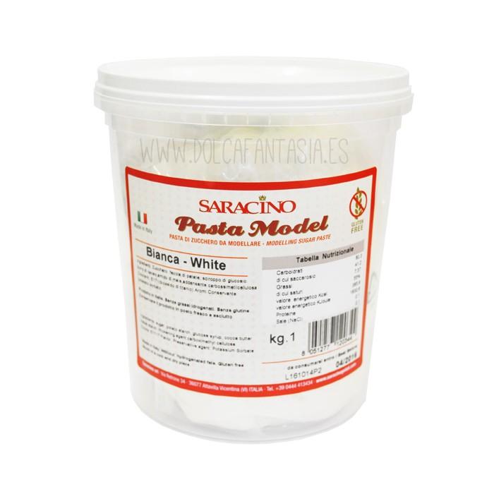 Pasta de modelar blanco - Saracino