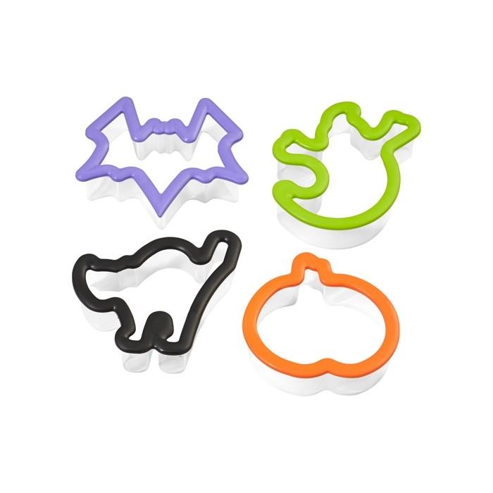 Set de 4 cortadores Halloween
