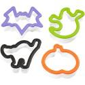Set de 4 cortadores Halloween - Wilton