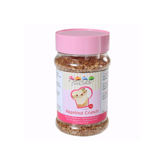 Trocitos de avellanas crunch 200 g. - Funcakes