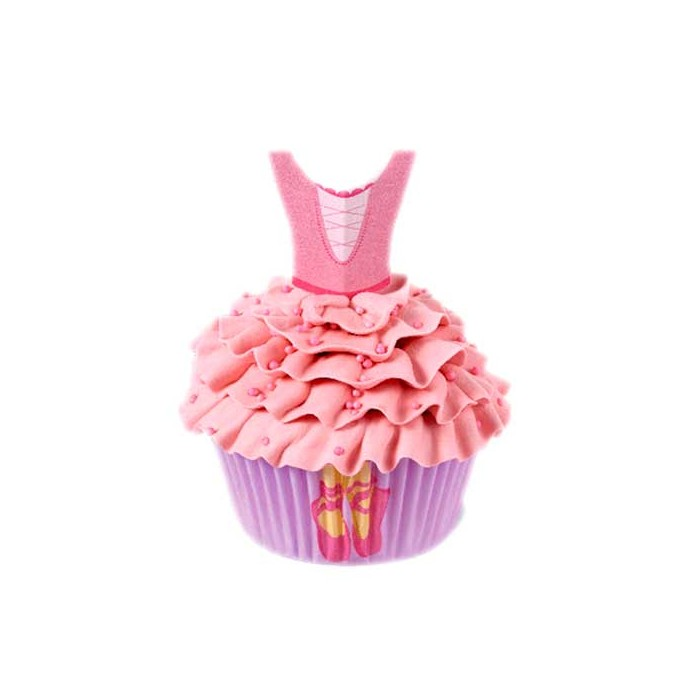 Kit Cupcakes bailarina