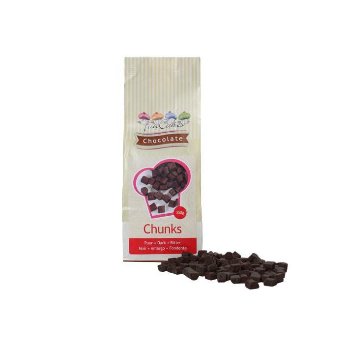 Gotas de chocolate negro - Funcakes