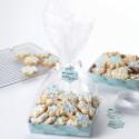 Set de bandejas para dulces decoradas con copos de nieve - Wilton